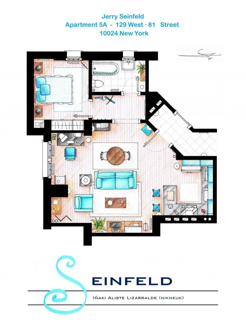 Tv show floor plans Home architecture tv show