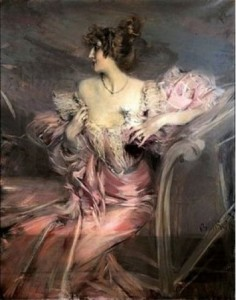 Painting by Giovanni Boldini Photos by GETTY.