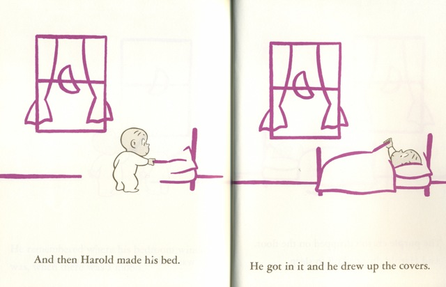 Harold and the purple crayon the image for Harold and the purple crayon coloring pages