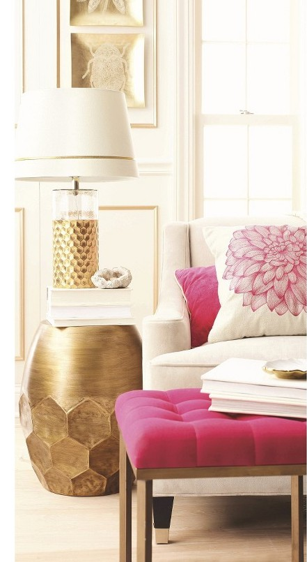 Fashion For The Home Pink And Gold