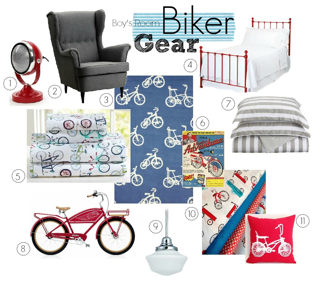 Boy's Room Biker Gear